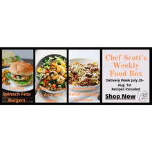 Load image into Gallery viewer, Chef Scott's Weekly St. Lawrence Market Food Box - (Delivery Week July 28th - Aug. 1st) - The Chef Scott Shop