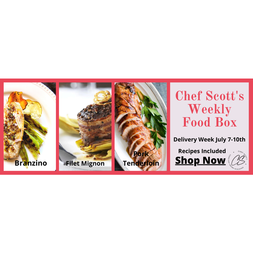 Chef Scott's Weekly St. Lawrence Market Food Box - (Delivery Week July 7th-10th) - The Chef Scott Shop