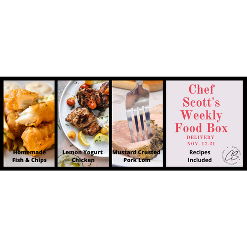 Chef Scott's Weekly St. Lawrence Market Food Box - (Delivery Week Nov. 17-21h) - The Chef Scott Shop