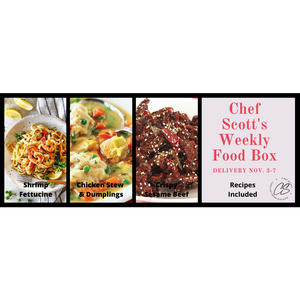 Chef Scott's Weekly St. Lawrence Market Food Box - (Delivery Week Nov. 3-7th) - The Chef Scott Shop