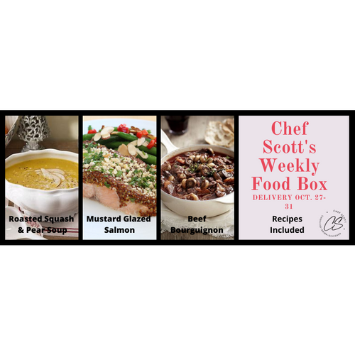 Chef Scott's Weekly St. Lawrence Market Food Box - (Delivery Week Oct. 27-31st) - The Chef Scott Shop