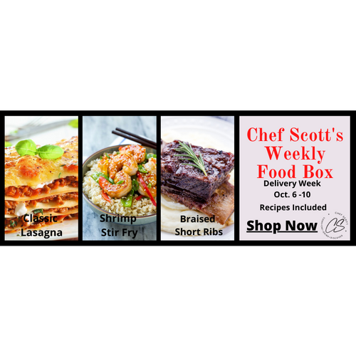 Chef Scott's Weekly St. Lawrence Market Food Box - (Delivery Week Oct. 13 -17th) - The Chef Scott Shop