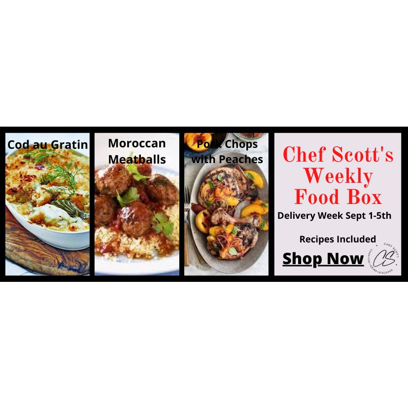 Chef Scott's Weekly St. Lawrence Market Food Box - (Delivery Week Sept. 1-5th) - The Chef Scott Shop