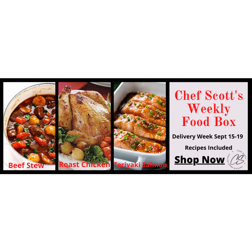Chef Scott's Weekly St. Lawrence Market Food Box - (Delivery Week Sept. 15-19th) - The Chef Scott Shop