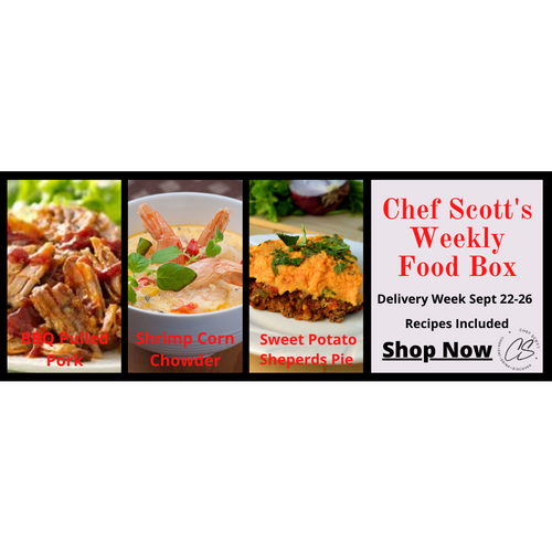 Chef Scott's Weekly St. Lawrence Market Food Box - (Delivery Week Sept. 22-26th) - The Chef Scott Shop