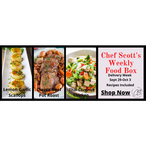 Chef Scott's Weekly St. Lawrence Market Food Box - (Delivery Week Sept. 29-Oct. 3rd) - The Chef Scott Shop