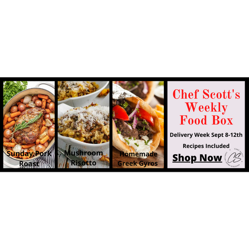Chef Scott's Weekly St. Lawrence Market Food Box - (Delivery Week Sept. 8-12th) - The Chef Scott Shop