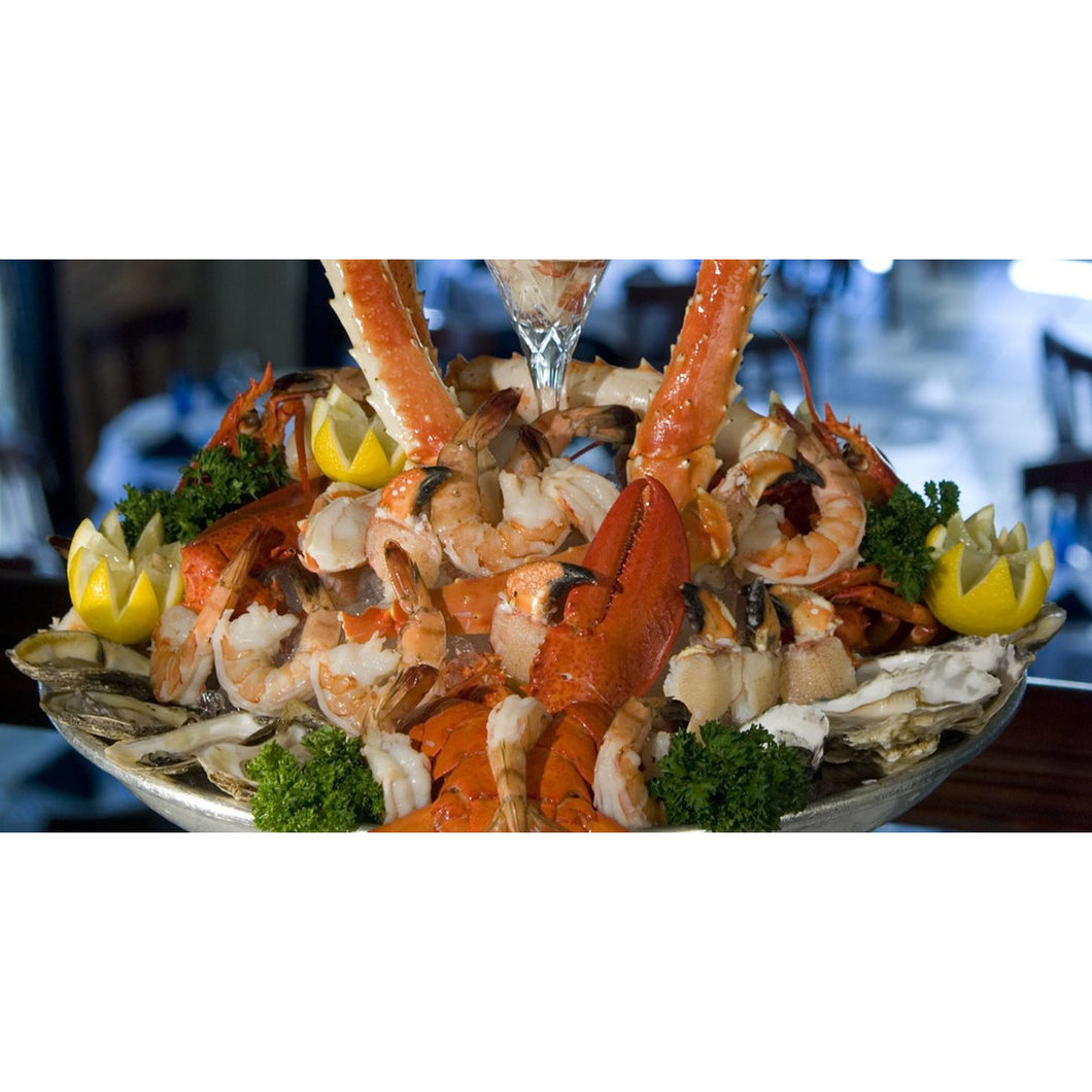 Build Your Own Seafood Board (Seacuturie) - Feeds 4 -6 people - The Chef Scott Shop
