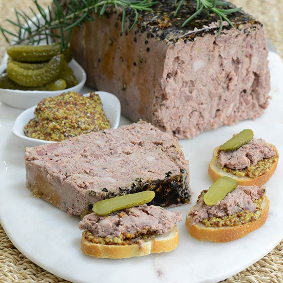 Artisan Country Pate with Black Pepper- 200 Grams - The Chef Scott Shop