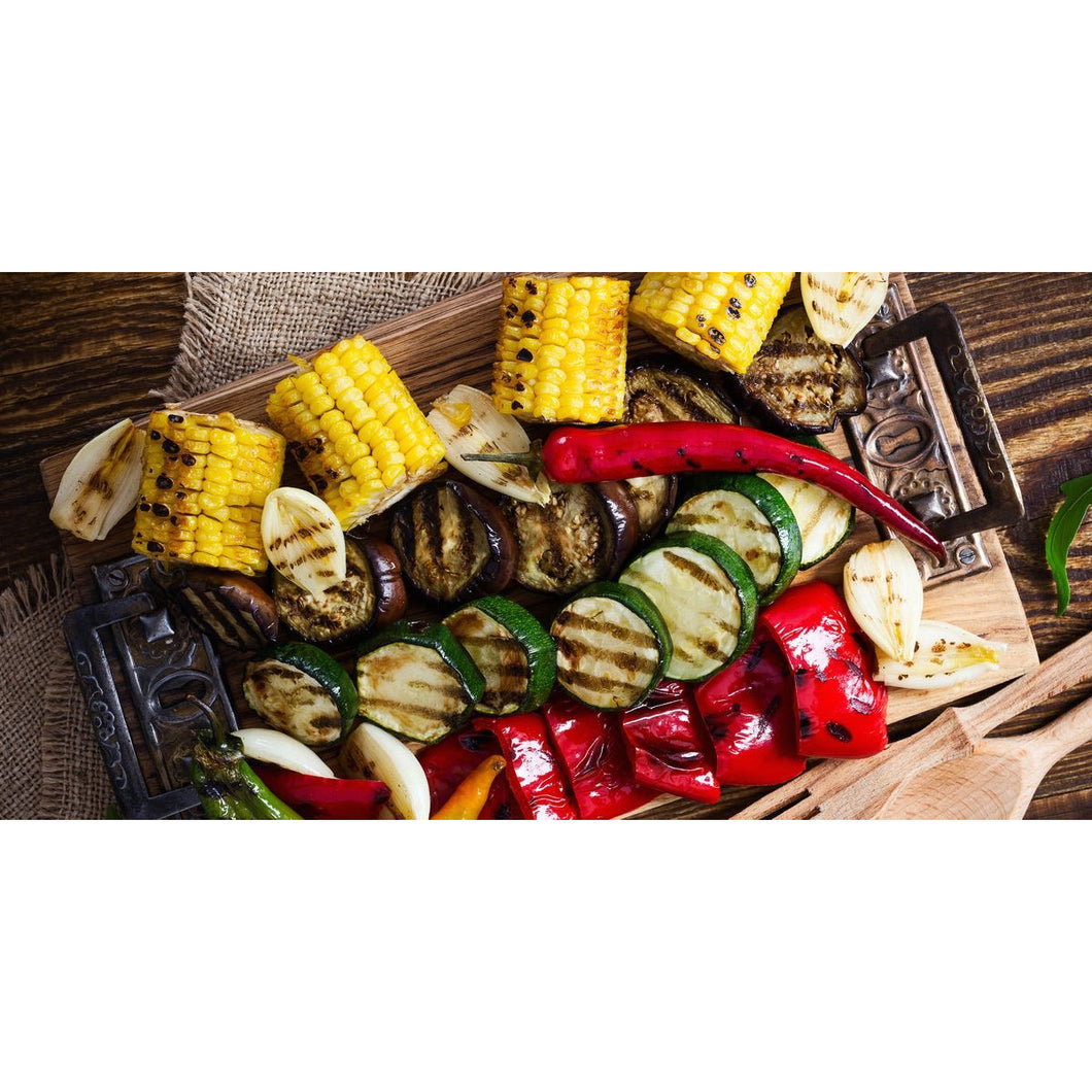 Fresh Fruit & Vegetable BBQ Grilling Grocery Basket - The Chef Scott Shop