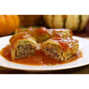 """European Delight"" Homemade European Meat & Rice Cabbage Rolls (2 Large Rolls Per Order) - The Chef Scott Shop"