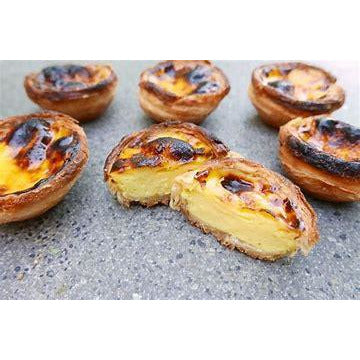 Portugese Custard Tarts (1/2 Dz.) - Pastel de Nata - The Chef Scott Shop