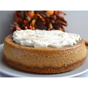 Pumpkin Spice Cheesecake - Whole - The Chef Scott Shop