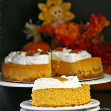 Load image into Gallery viewer, Pumpkin Spice Cheesecake - Whole - The Chef Scott Shop
