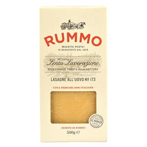Lasagna Sheets- Dry - Rummo Pasta (Italy) 500 Grams - The Chef Scott Shop