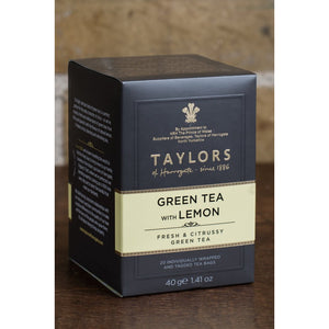 Everyday Gourmet Coffee  Taylors of Harrogate Green Tea with Lemon - The Chef Scott Shop