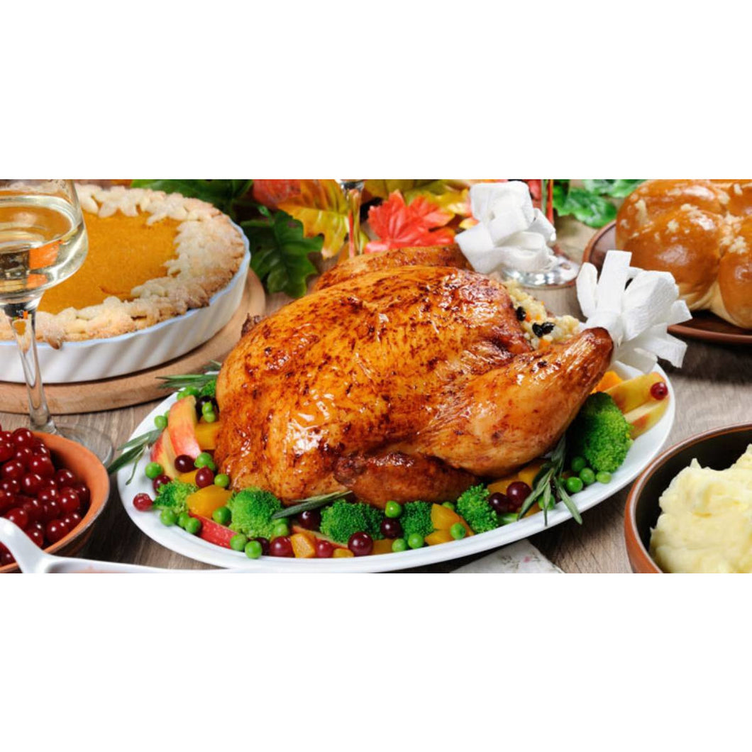 Traditional Turkey Dinner Box (Small feeds 4 +) - The Chef Scott Shop