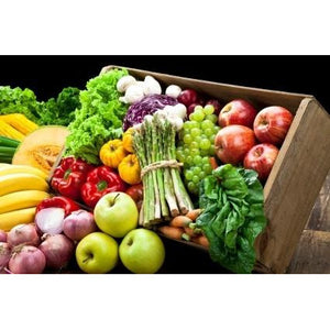 Fresh Fruit & Vegetable Home Chef Grocery Basket - The Chef Scott Shop