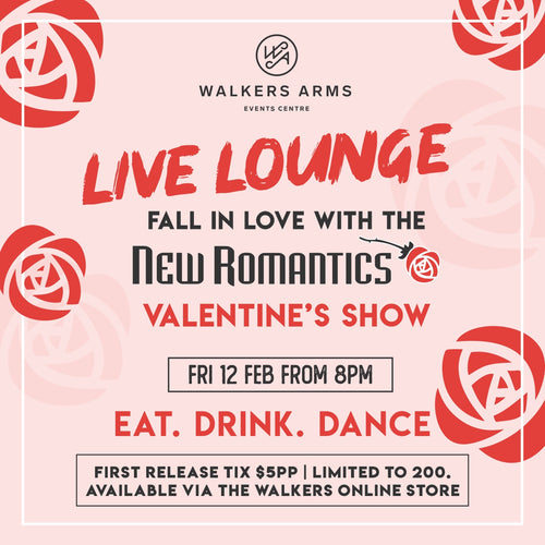 Walkers Live Lounge with the New Romantics - Friday Feb 12
