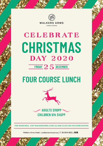 Christmas Day Lunch - Friday December 25