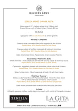 Load image into Gallery viewer, Walkers Arms - Zerella Wines Dinner Festa March 27