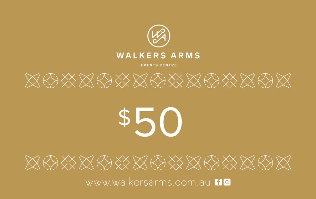 Walkers Arms Gift Voucher