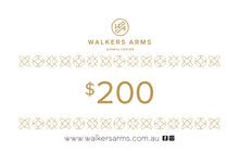 Load image into Gallery viewer, Walkers Arms Gift Voucher