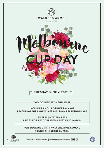 Walkers Arms - Melbourne Cup Luncheon November 5