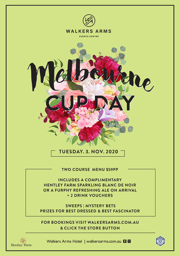 Melbourne Cup Day Lunch - Tuesday November 3