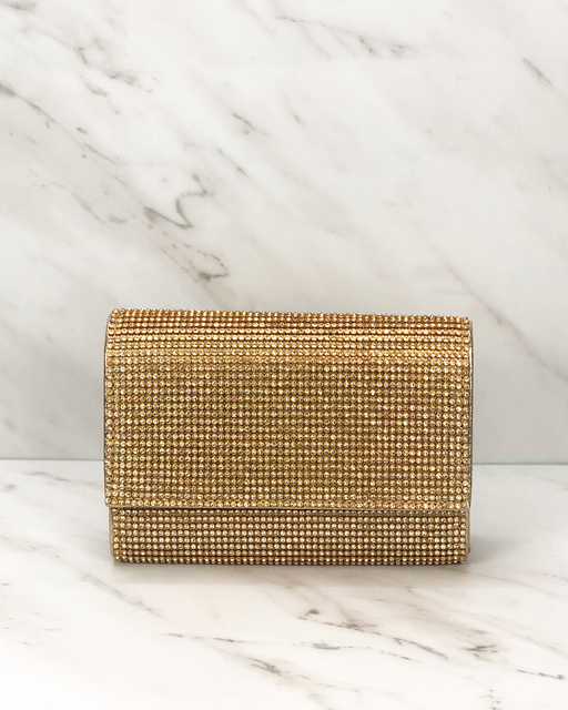 Sparkling Clutch | Gold