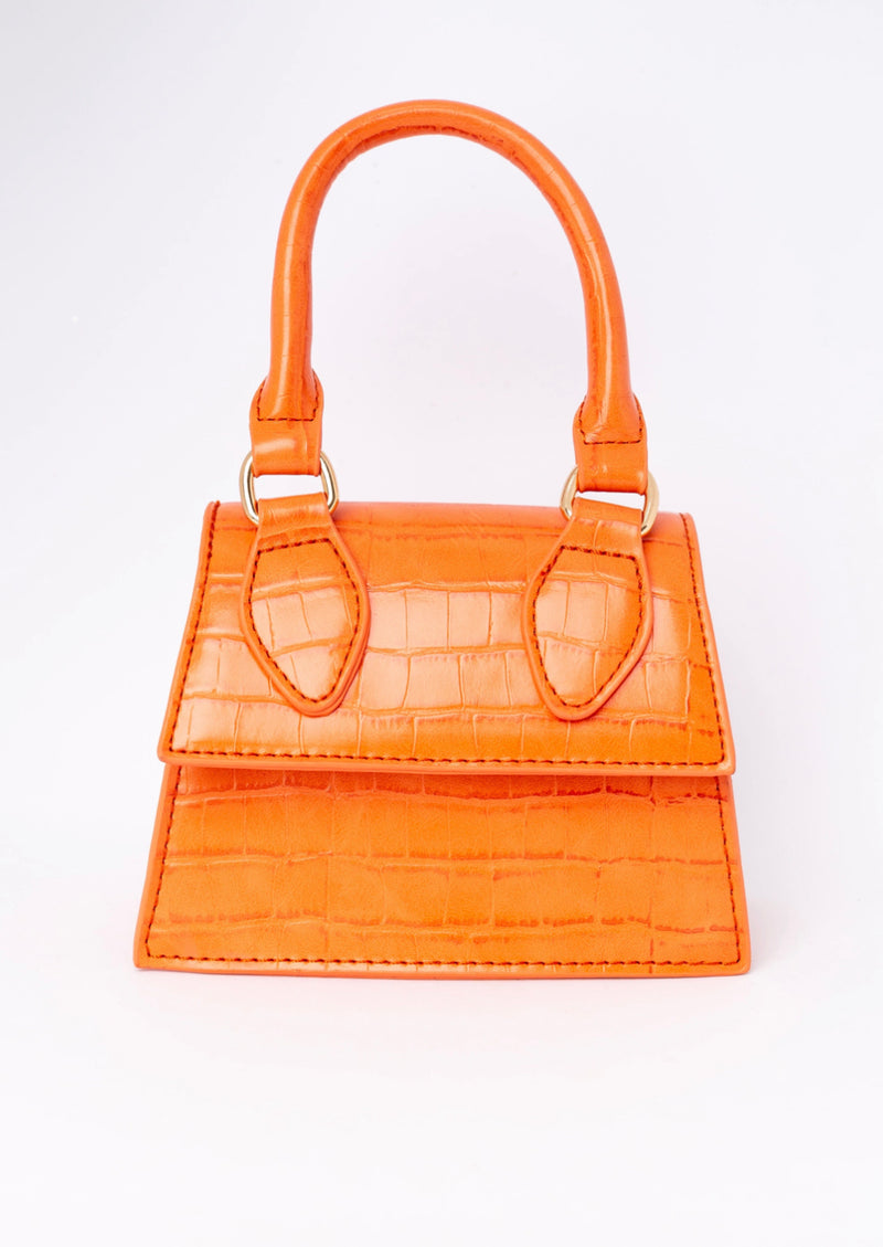 All You Need Mini Handbag | Tangerine