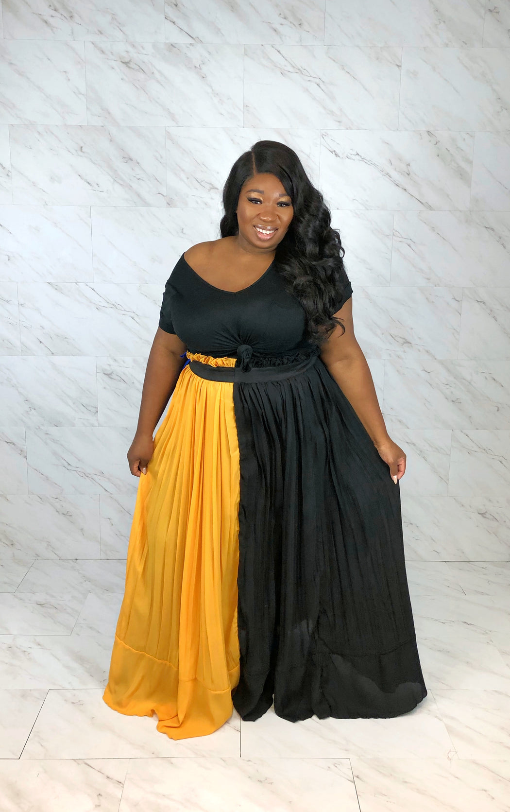 Twist of Fate Chiffon Maxi Skirt | Multi