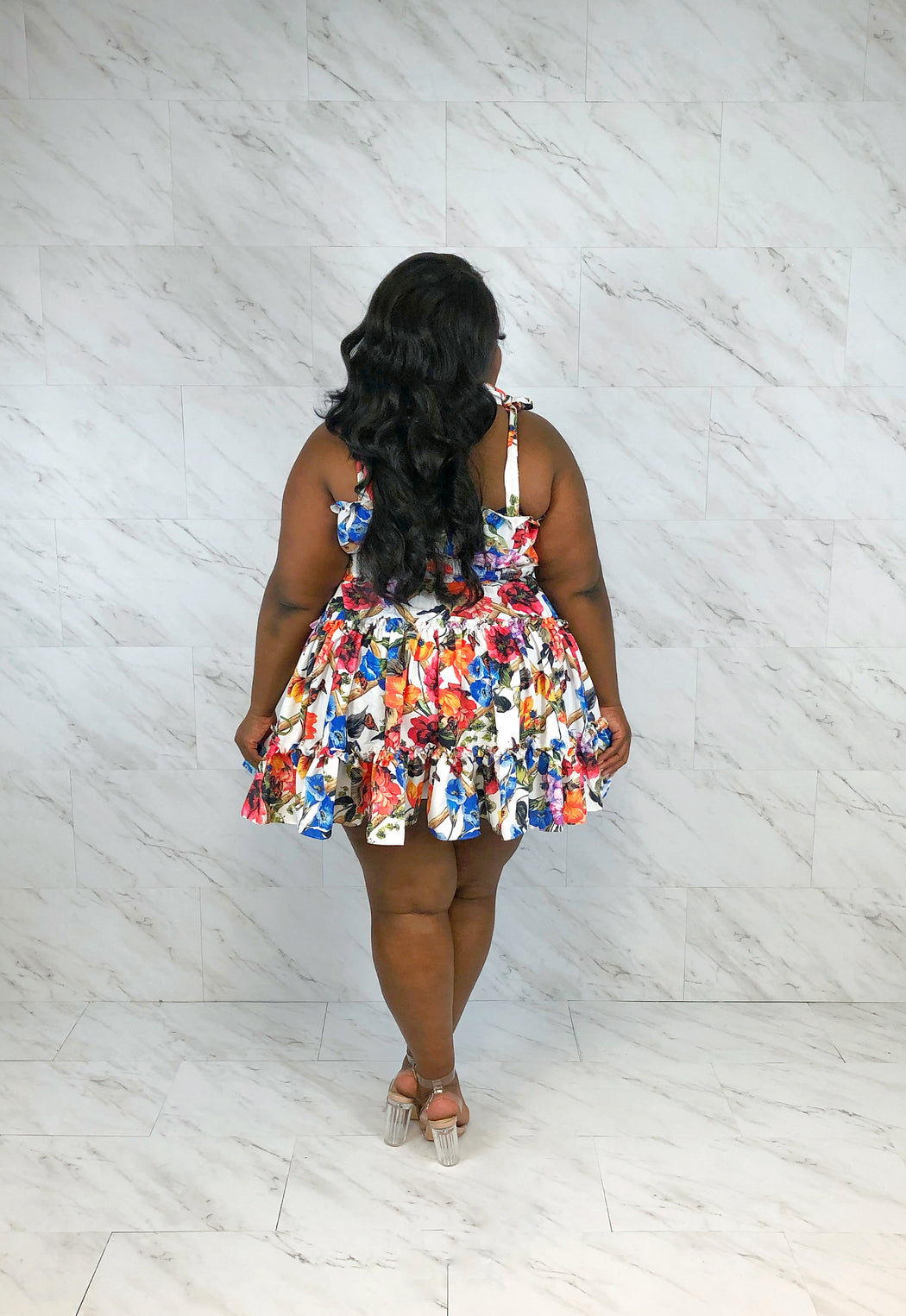 Fresh & Flirty Sundress | White Floral