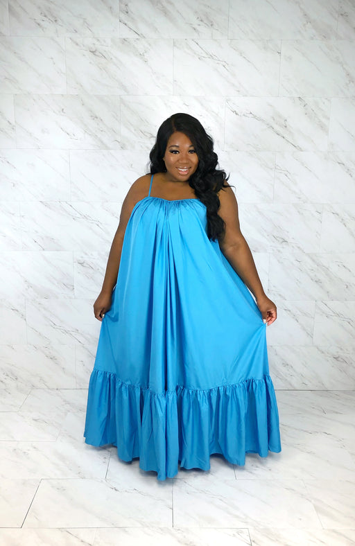 Endless Summer Maxi Dress | Paradise Blue
