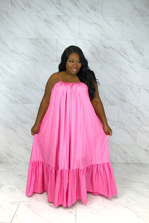 Endless Summer Maxi Dress | Bubble Gum Pink