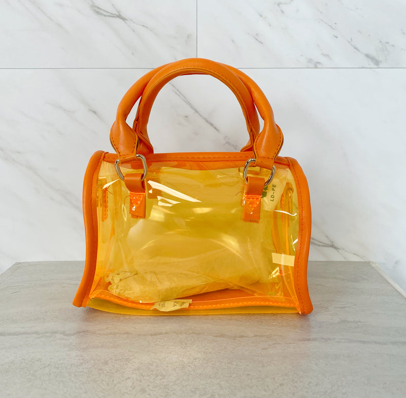 Mini Speedy Bag | Tangerine