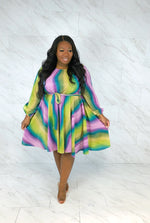 Candy Dreams Fit & Flare Dress | Candy Apple