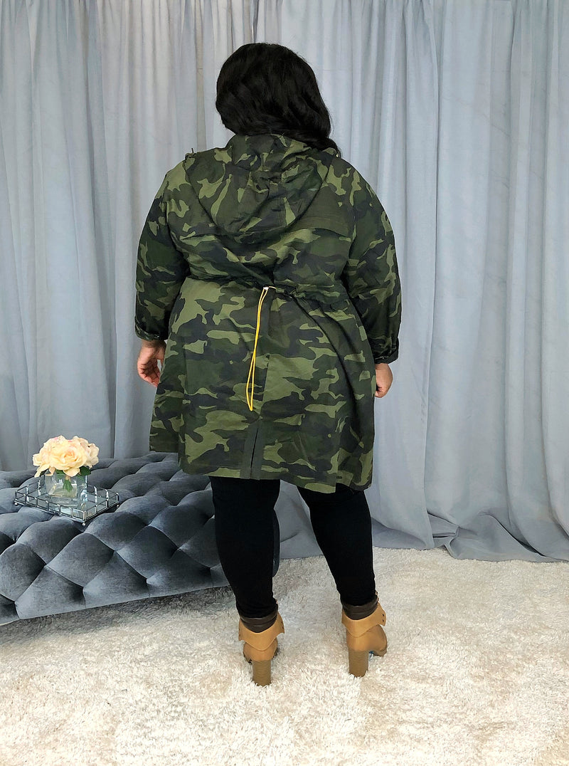 Camo Shacket | Multi