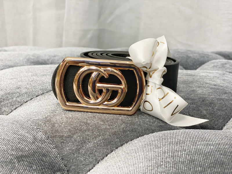 The High Life Faux Leather Belt | Black