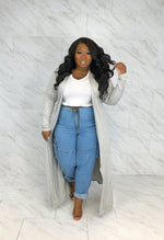 Maxi Duster | Heather Gray