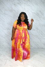 Everything I Need Tie-front Skirt Set | Pink Tie-dye
