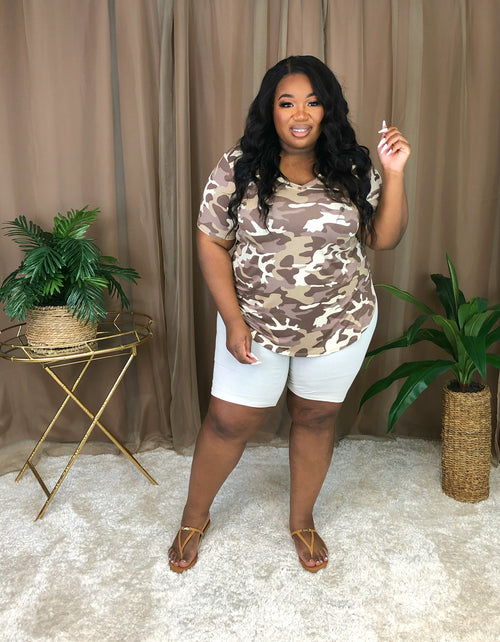 Camo Short Set | Cocoa Mix