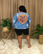 I'm a Savage Denim Jacket | Medium Wash