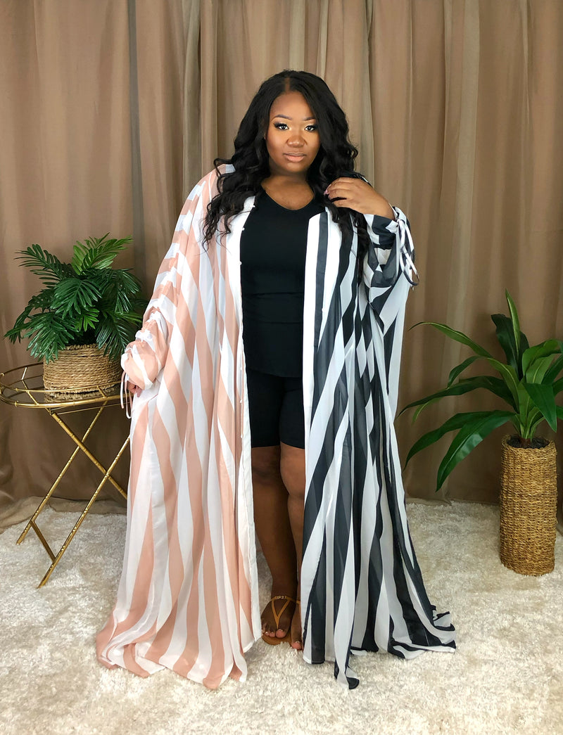 Make a Statement Chiffon Duster | Multi