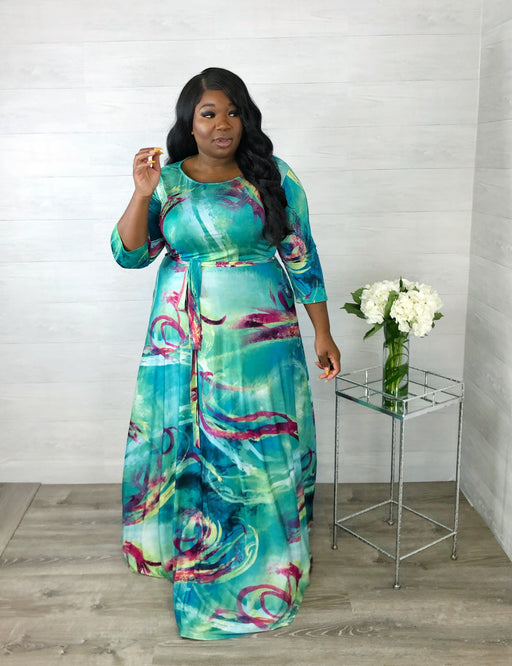 Paint My World Maxi | Aqua