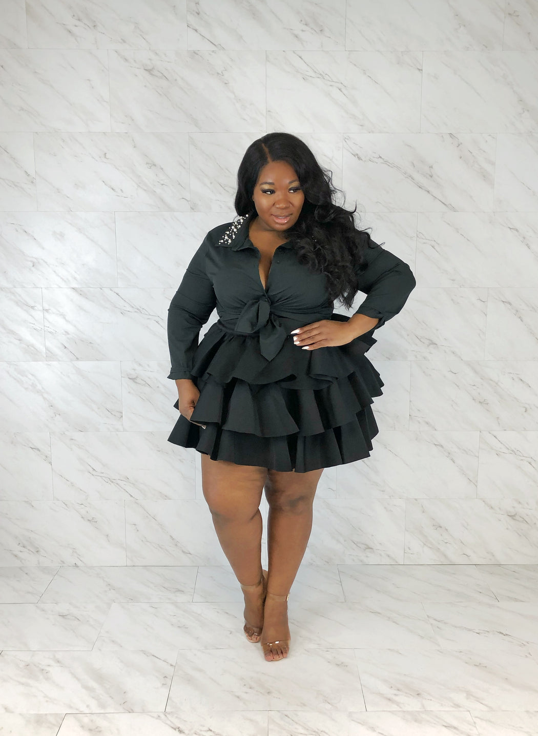 Cupcake Mini Skirt | Black