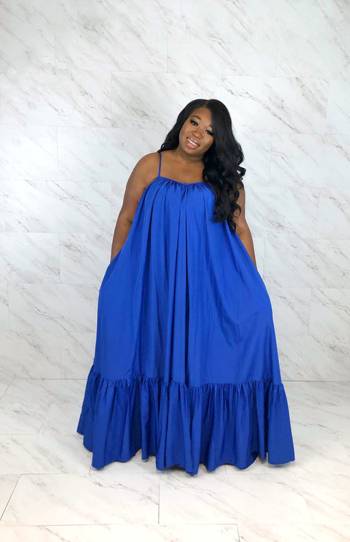 Endless Summer Maxi Dress | Royal Blue