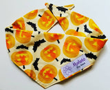 Pumpkin and Bats Bandana