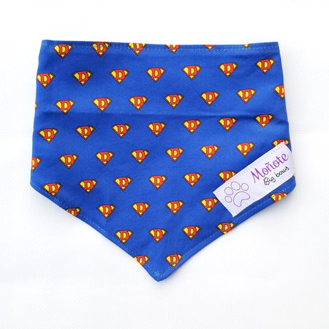 SuperDog Snap-on Bandana