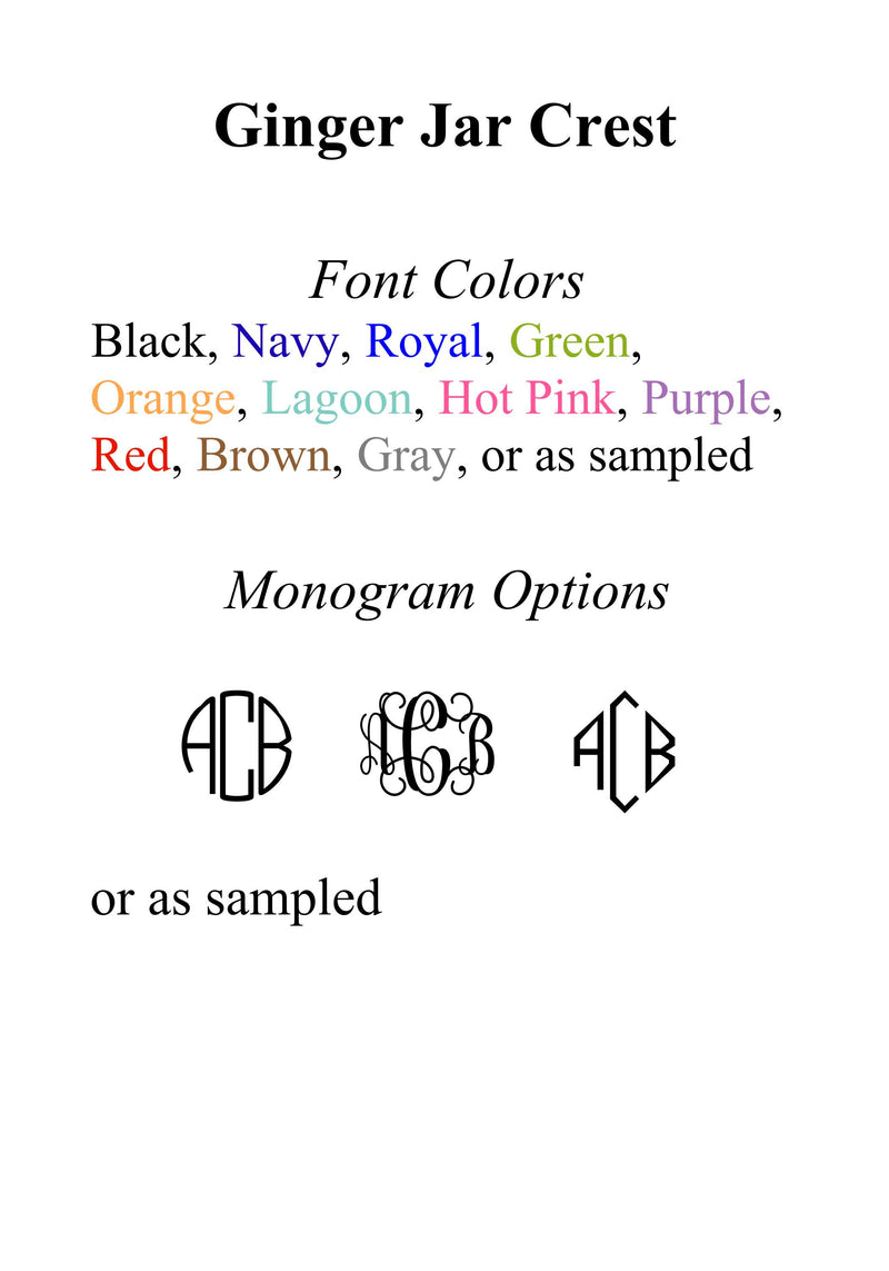 Font and Color Options